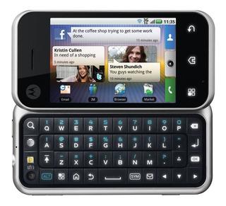 Motorola Backflip Inmaculado Nuevo De Colección