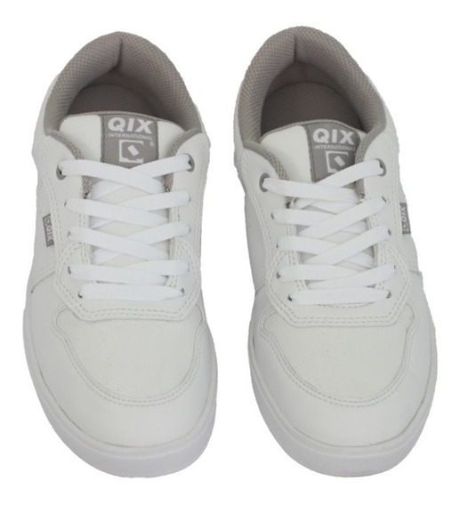 Tênis Qix Masculino Fleek Branco (100% Original) Com N F