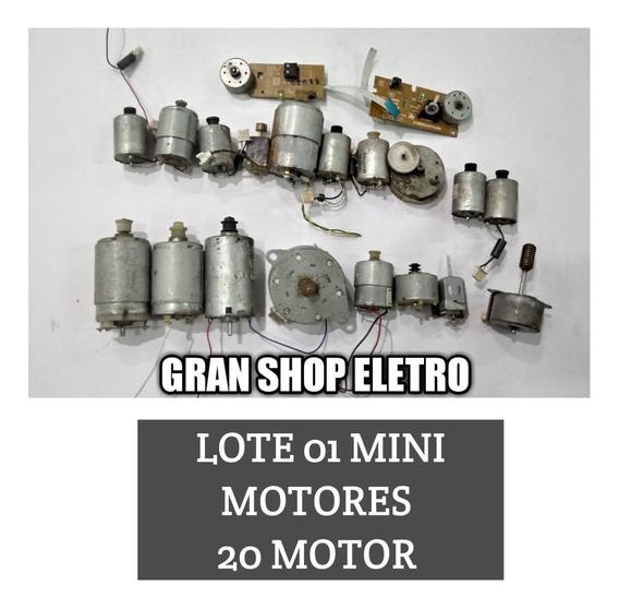 Lote 01 De Mini Motor 2votes 3 4 5 6 7 9 10 12v P/ Esperienc