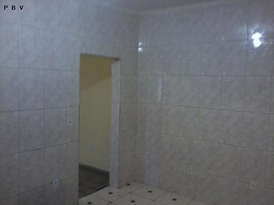 Casa A Venda Em São Paulo, Ponte Rasa, 3 Dormitórios, 1 Banheiro, 3 Vagas - 095