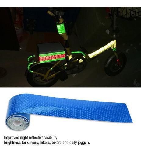 5cmx3m Adesivos De Bicicleta Fita Refletiva Adesivo Noite Cy