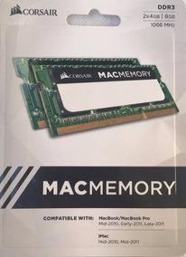 Kit 8gb (2x4gb) 1066mhz P/ Macbook, iMac & Notes - Macmemory