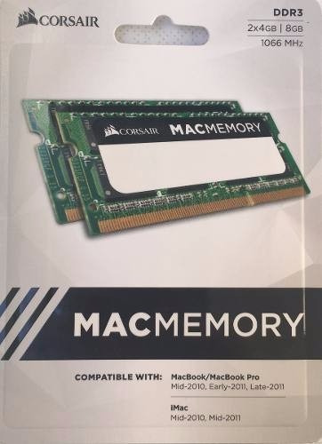 Kit 8gb (2x4gb) 1066mhz P/ Macbook, iMac & Notes - Macmemory
