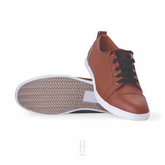 Tenis Con Causa Hope Shoes Classy 100% Piel Hecho En Mexico