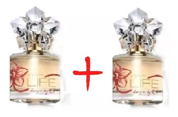 Perfume Life For Her Deo Parfum Ed. Especial Kit Com 2 Unds 50ml Avon