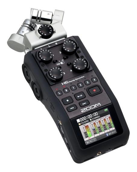 Gravador Zoom H6 Case, Acessórios, Caixa Original+nota