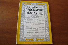 Magazine National Geographic / Vol 102 Nº 6 / 1952 Dezembro