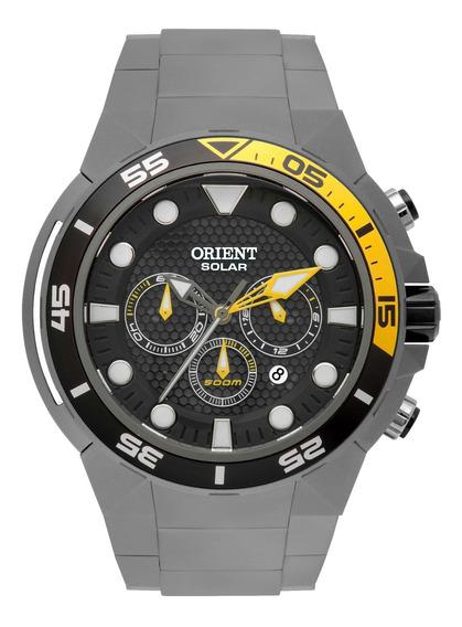 Relógio Orient Mbttc014 P1gx Cinza Titânio Seatech- Refinado