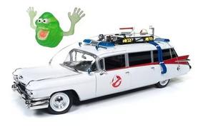 Caça Fantasmas Cadillac Ghostbuster Ecto-1 Auto W Esc. 1:18