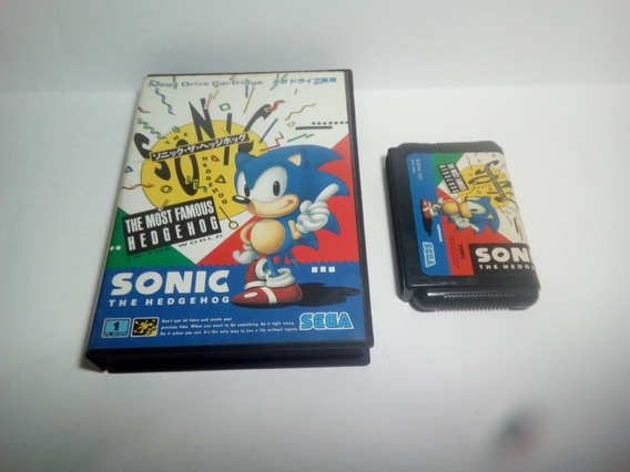 Sonic The Hedgehog - Original - Com Caixa
