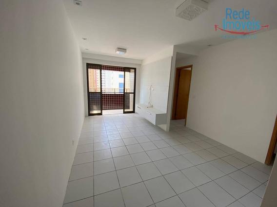 Apartamento Com 2 Dormitórios À Locação, 54 M² - Graças - Recife/pe - Ap8588