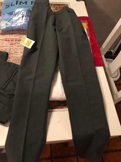Pantalón Uniforme Niño Skinny Nuevos