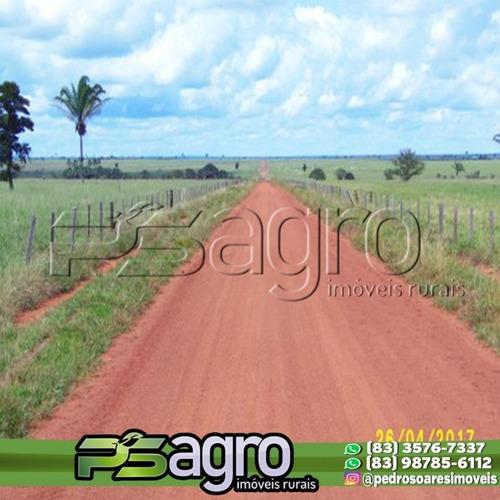 Imagem 1 de 4 de Fazenda À Venda, 42500 Hectares Por R$ 800.000.000 - Chácara Das Mansões - Campo Grande/ms - Fa0134
