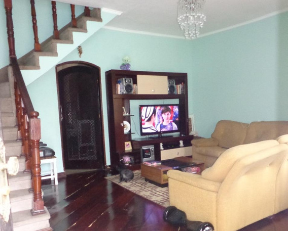 Sobrado Com 2 Dormitórios À Venda, 97 M² Por R$ 290.000 - Parque Novo Oratório - Santo André/sp - So0373