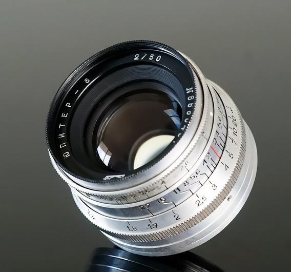 Lente Kmz Jupiter 8, 50mm 2.0 (zeiss Sonnar-copy) Mount L39