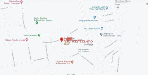 Terreno À Venda, 354 M² Por R$ 744.765,00 - Santa Rita - Piracicaba/sp - Te0815