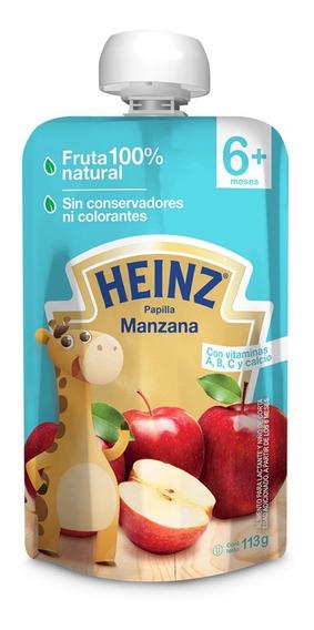 Papilla Heinz Pouch Manzana 113 Gr