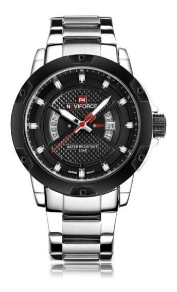 Relógio Masculino Esportivo De Luxo Naviforce 9085 Original