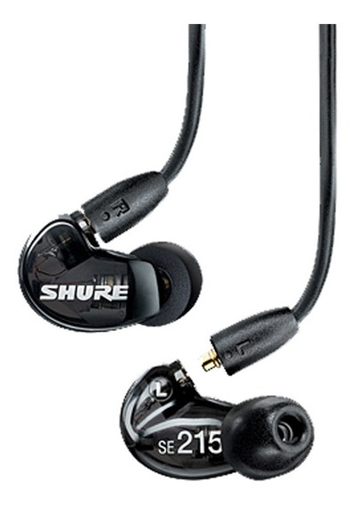 Fone In-ear Shure Se 215 Original C/garantia