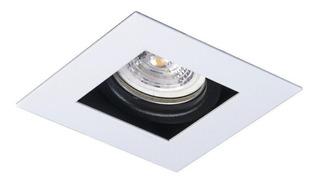 4x Spot Cuadrado De Embutir Techo + Lámpara Luz Led 7w Gu10