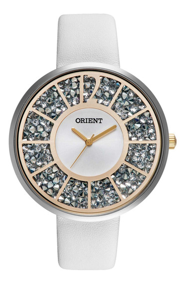 Relógio Orient Ftsc0001 S2bx Eternal Bran Cristal - Refinado
