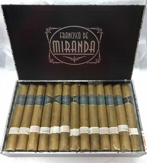 Cigarros Francisco De Miranda L. Azul Toro X 25 Puros