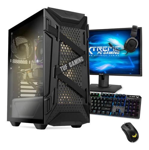Imagen 1 de 6 de Xtreme Pc Geforce Gtx 1650 Ryzen 5 Ssd 2tb Monitor 144hz
