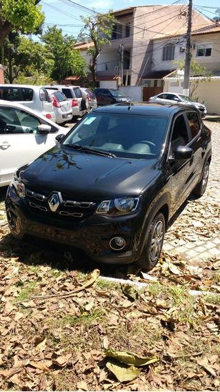 Renault Kwid Preto - Intense 2018 - 15mil Km