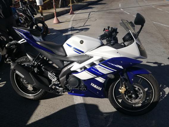 Yamaha Yzfr15 Blanca Azul