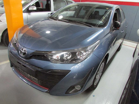 Toyota Yaris Sd S Cvt 2019 Azul