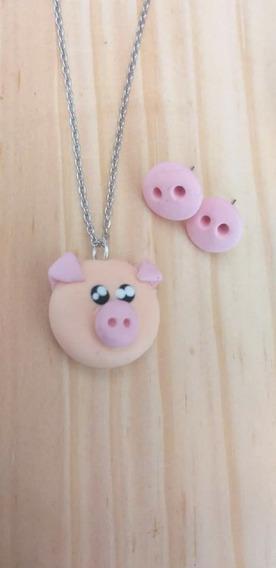 Peppa Pig C/cadena De Acero Inoxidable Natural