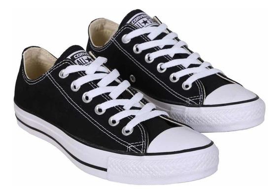 Converse Clásica Color Negro Importada