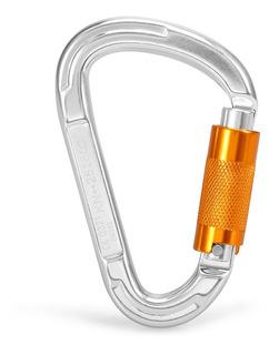 25kn Twist Locking Gate Carabiner Certified Auto Lock