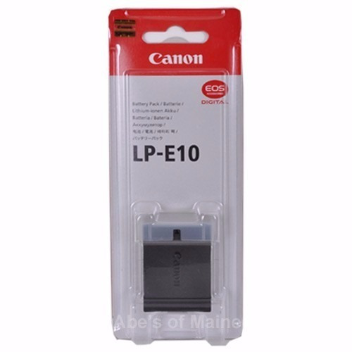 Canon Lp-e10 Bateria Recarregável Para Câmera Canon Eos