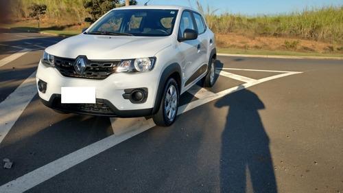 Renault Kwid 1.0 Zen 2018 Branco Completo