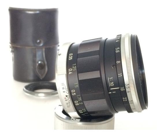 Minolta Macro 50mm F3.5 Com Tubo E Anel De Inversão