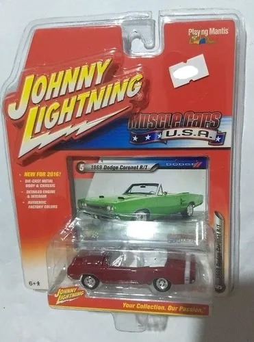 Johnny Lightning Dodge Coronet Rt 1969 En La Plata