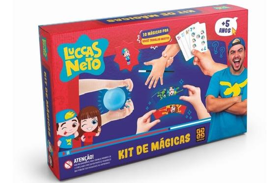 Kit De Magicas - Luccas Neto Original Grow 03770