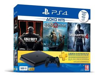 Play Station Ps4 Hdr 1tb + 3 Juegos Originales Gratis