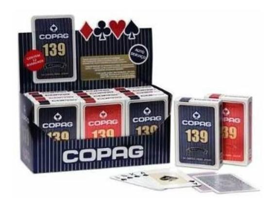 Baralho Copag 139 Original Caixa Com 12 Promoção