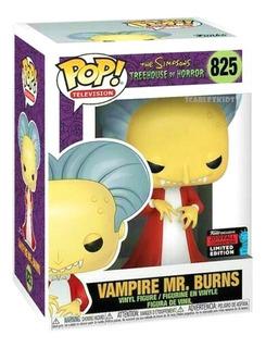 Funko Pop The Simpsons Mr Burns Vampiro 825 Orig E Limitada