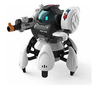 Sbk50001 2.4g 6-legs Smart Rc Robot 5 Modos 3 Sistemas Robot