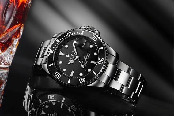 Tevise T801a ] Hombre Mechanical Watch - Negro Reloj Mecanic