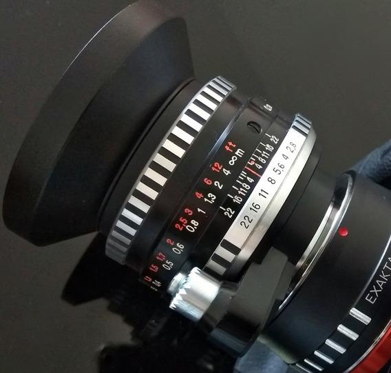 Carl Zeiss Jena Flektogon Makro +adaptador Leica Mount Lm