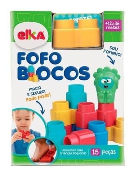 Fofo Blocos C/ 15 Pc - 1010 Elka