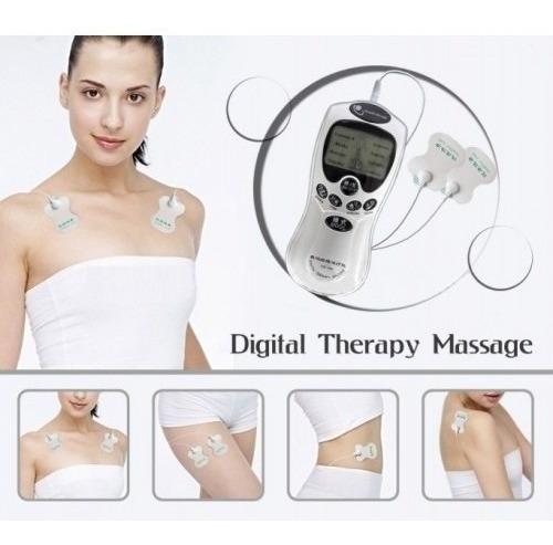 Electroestimulador Para Terapia Muscular De 4 Electrodos