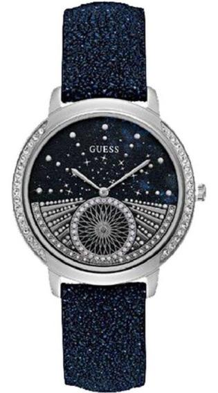 Relógio Feminino Guess Pulseira De Couro 92669l0gdnc1