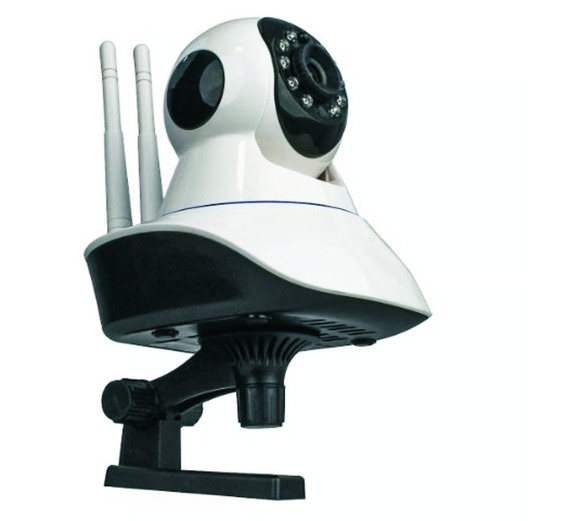 Câmera Segurança Robô Ip Wi-fi Pantilt Hd Sem Fio P2p Áudio!