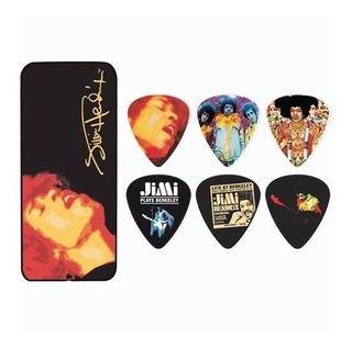 Puas Dunlop Lata Con 12 Jimi Hendrix Heavy Electric Ladyland