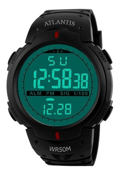 Relógio Digital Atlantis Sport Shock Militar Resistente Água